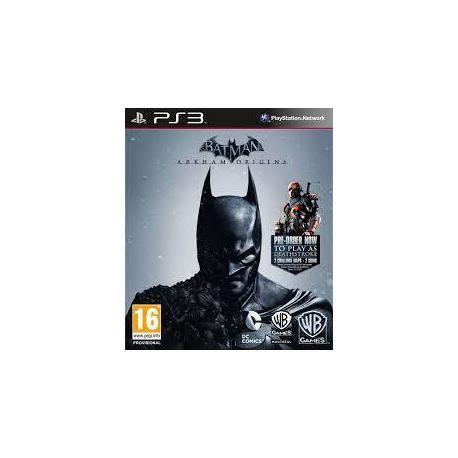 Batman Arkham Origins Ps3 24,900.00 playstation 3 juegos digitales ps3