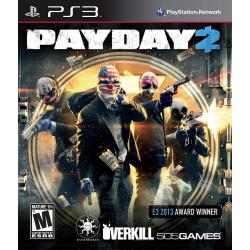 PAYDAY 2 Ps3 34,900.00 playstation 3 juegos digitales ps3
