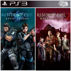 Pack Resident Evil Revelations 1 y 2 Ps3 39,900.00 playstation 3 juegos digitales ps3