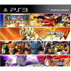 Pack Anime Ps3 49,900.00 playstation 3 juegos digitales ps3