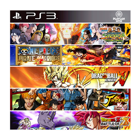 Super Pack Anime Ps3 69,900.00 playstation 3 juegos digitales ps3