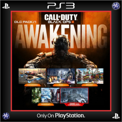 Call Of Duty Black Ops 3 + DLC Awakening Ps3 39,900.00 playstation 3 juegos digitales ps3