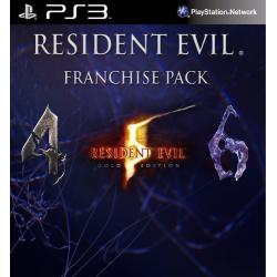 Resident Evil Franchise Pack Ps3 29,900.00 playstation 3 juegos digitales ps3