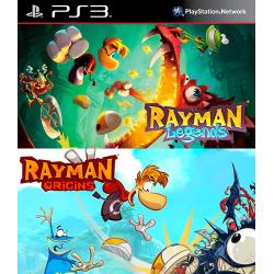 Rayman Legends + Rayman Origins Ps3 44,900.00 playstation 3 juegos digitales ps3