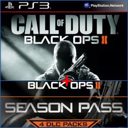 Call Of Duty Black Ops 2 + Season Pass Ps3 49,900.00 playstation 3 juegos digitales ps3