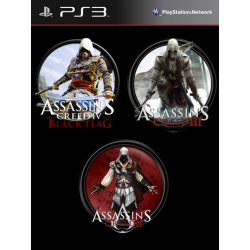 Assassin's Creed Trilogy Collection Ps3 34,900.00 playstation 3 juegos digitales ps3
