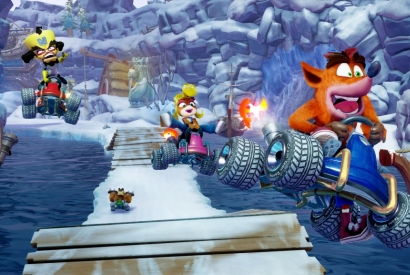 Tráiler de lanzamiento de Crash Team Racing Nitro-Fueled