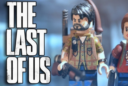 Gran reconstrucción de The Last Of Us en Lego